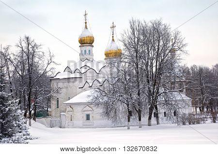 Little St. Paraskeva Church in Podil near the Trinity Lavra Seogievo