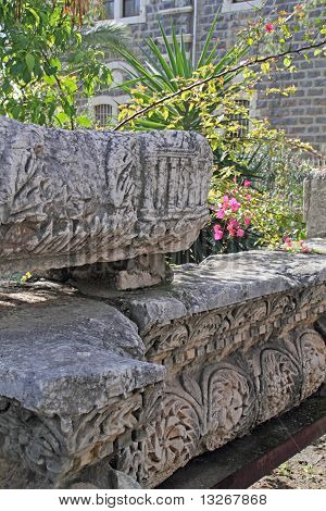Romans ruins Capernaum,Israel
