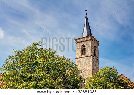 Saint Giles Church In Erfurt