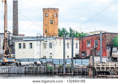 Malaya Neva Dock