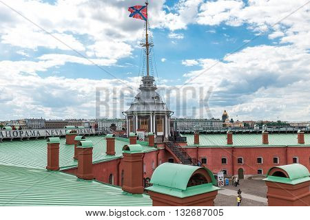 Roofs Of St. Petersburg