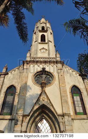 Church of Caraça Mountain, Minas Gerais, Brazil