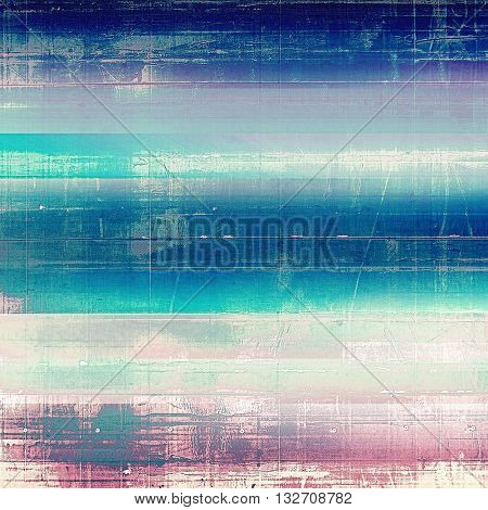 Grunge background or vintage texture in traditional retro style. With different color patterns: blue; purple (violet); gray; pink; cyan