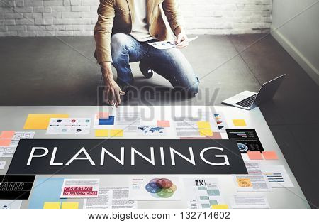 Plan Planning Operations Solution Viosion Strategy Concept