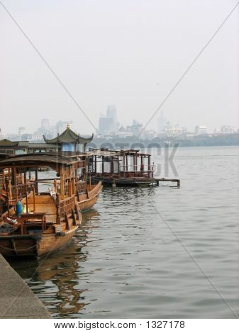 chinesische Boote West