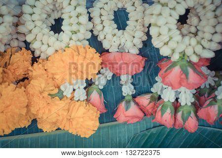 Garland Jasmine Flower