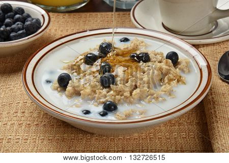 Oatmeal With Honey