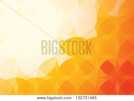 Vector of abstract pattern and background
