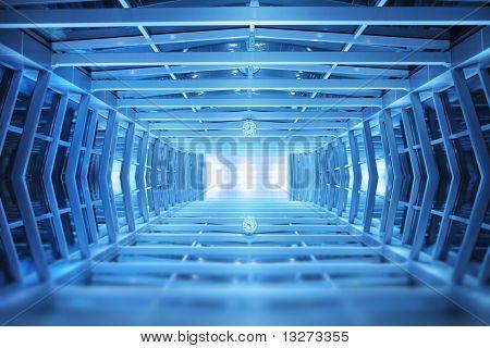 Moderne Gehweg Interior