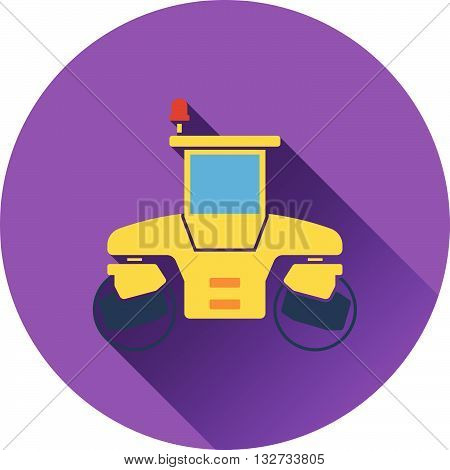 Icon Of Road Roller