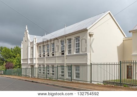 The Cradock High School. Cradock is a medium sized town in the Eastern Cape Province
