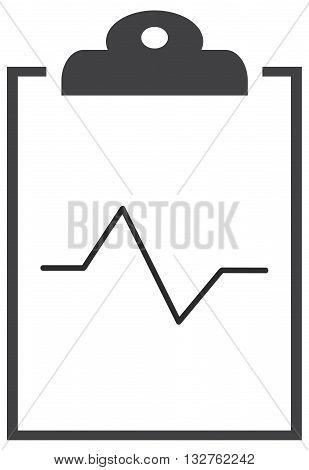 Hospital card icon medicine medical exam clinic