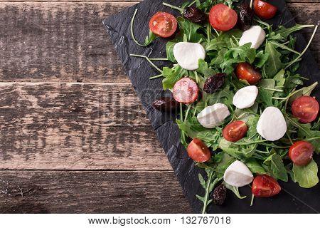 Salad With Mozzarella Cheese,healthy Food