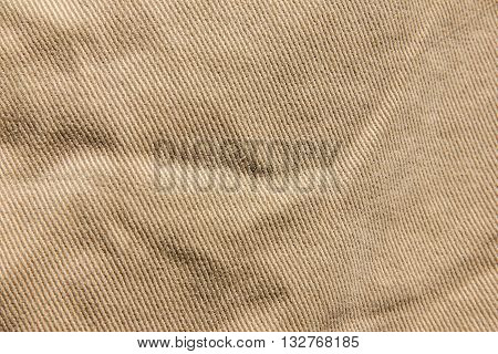 Velvet Texture Background Fabric, Denim Cotton, Brown Jeans Texture, Beige Velvet Denim Fabric