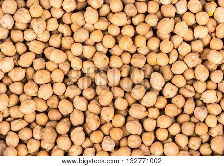 Background Of Dried Chickpeas