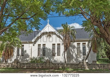 The St. Peters Anglican Church in Cradock a medium sized town in the Eastern Cape Province