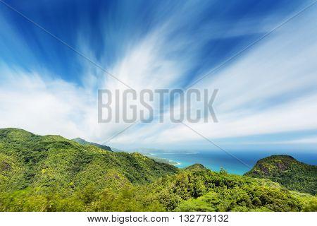 South Mahe Long Exposure, Seychelles