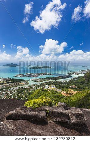 Mahe Islands View, Seychelles