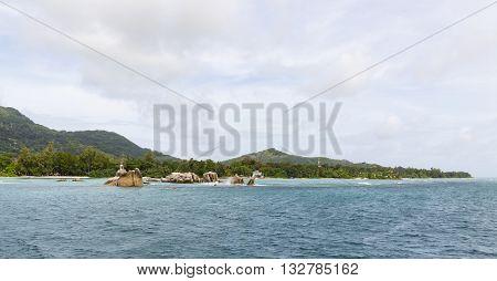 La Digue Harbor, Seychelles