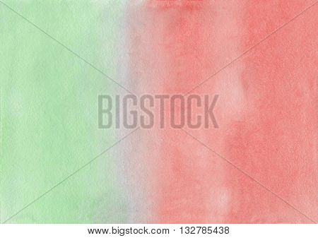 Abstract Pink And Blue Watercolor Background