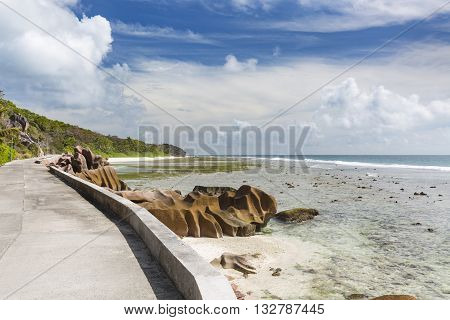 La Digue East Coast, Seychelles