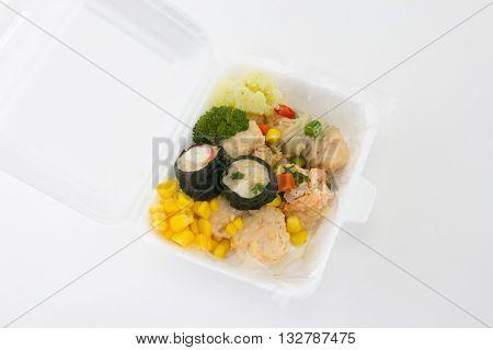 close up of dim sum chinese cuisine