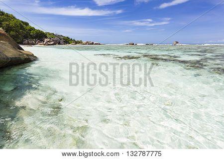 Crystal Clear Water, La Digue, Seychelles
