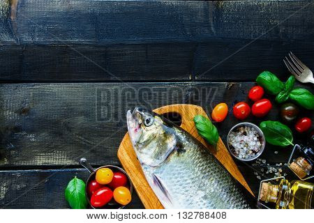 Sea Fish With Vegetables