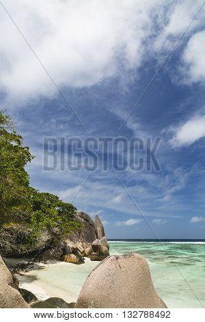 Small Romantic Bay, La Digue, Seychelles