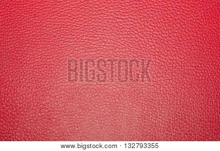 Texture Colored Leatherette Red, For Design And Upholstery For Decoration And Fashion