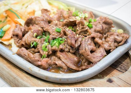 Japanese Beef Teriyaki Grill