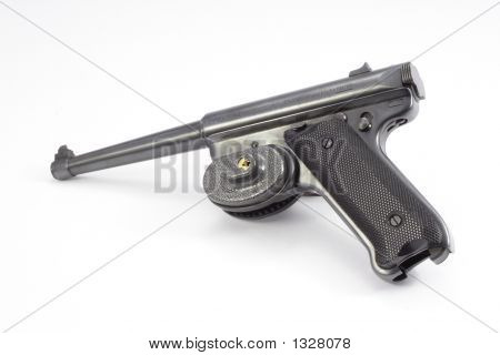 Pistol With Trigger Lock