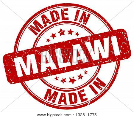made in Malawi red round vintage stamp.Malawi stamp.Malawi seal.Malawi tag.Malawi.Malawi sign.Malawi.Malawi label.stamp.made.in.made in.