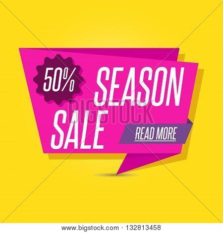 Big sale. Sale banner design. Sale background
