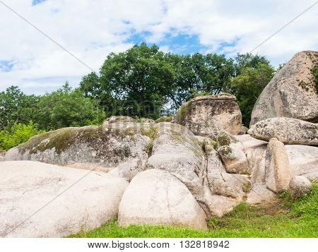 Huge Boulders Of Thracian Megaliths Beglik Tash