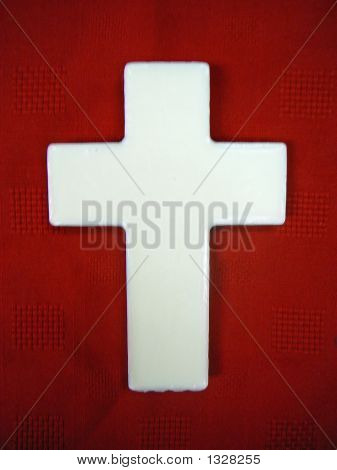 Cross Red Background 2