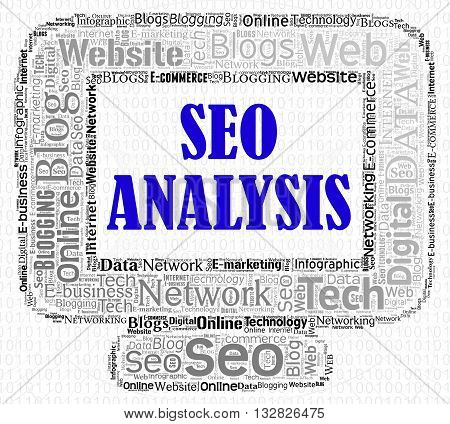 Seo Analysis Shows Search Engines And Analytic