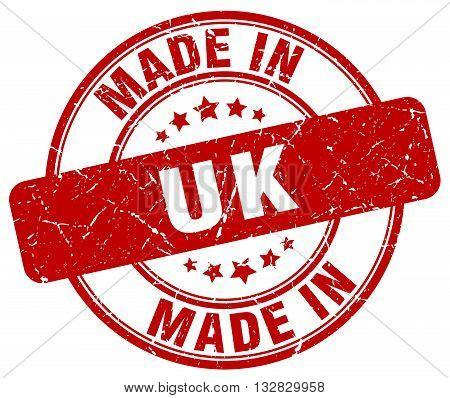 made in uk red round vintage stamp.uk stamp.uk seal.uk tag.uk.uk sign.uk.uk label.stamp.made.in.made in.