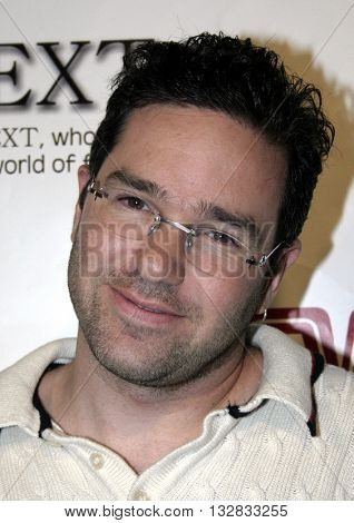 Dave Meyers at the 2nd Semi Annual Fashion Wire Daily's event NEXT at Mondrian Hotel's SkyBar in West Hollywood, USA on October 25, 2004.