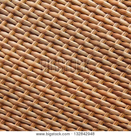 texture of synthetic rattan weave abstract for background