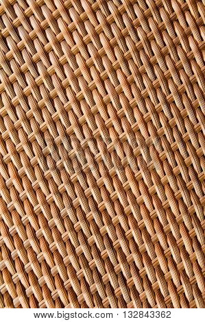 texture of synthetic rattan weave for background