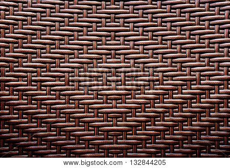 grunge synthetic rattan weave texture used for background