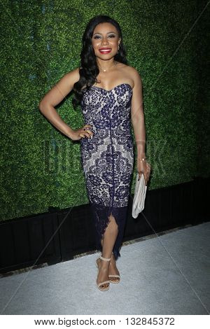 LOS ANGELES - JUN 2:  Shalita Grant at the 4th Annual CBS Television Studios Summer Soiree at the Palihouse on June 2, 2016 in West Hollywood, CA