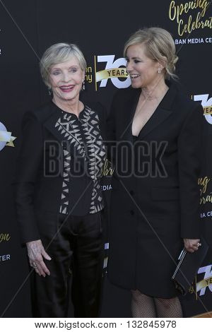 LOS ANGELES - JUN 2:  Florence Henderson, Maureen McCormick at the Television Academy 70th Anniversary Gala at the Saban Theater on June 2, 2016 in North Hollywood, CA