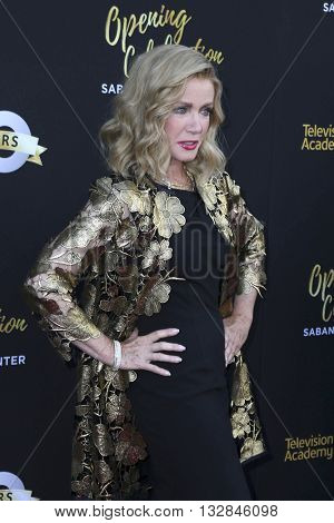 LOS ANGELES - JUN 2:  Donna Mills at the Television Academy 70th Anniversary Gala at the Saban Theater on June 2, 2016 in North Hollywood, CA
