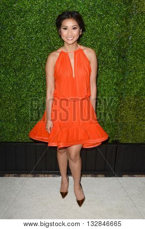 LOS ANGELES - JUN 2:  Brenda Song at the 4th Annual CBS Television Studios Summer Soiree at the Palihouse on June 2, 2016 in West Hollywood, CA