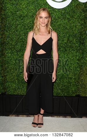 LOS ANGELES - JUN 2:  Emily Wickersham at the 4th Annual CBS Television Studios Summer Soiree at the Palihouse on June 2, 2016 in West Hollywood, CA