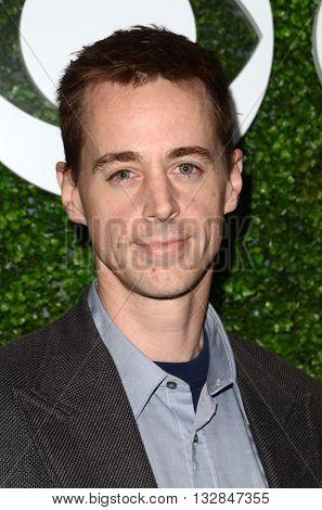 LOS ANGELES - JUN 2:  Sean Murray at the 4th Annual CBS Television Studios Summer Soiree at the Palihouse on June 2, 2016 in West Hollywood, CA