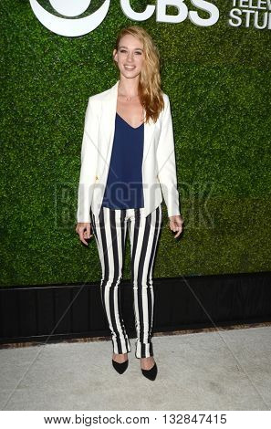LOS ANGELES - JUN 2:  Yael Grobglas at the 4th Annual CBS Television Studios Summer Soiree at the Palihouse on June 2, 2016 in West Hollywood, CA
