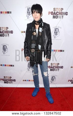 LOS ANGELES - MAY 25:  Diane Warren at the Stop Poaching Now 2016 Gala at the Ago Restaurant, on May 25, 2016 in West Hollywood, CA